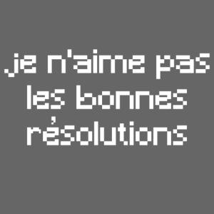 Résolutions blanc
