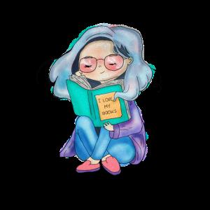 Ich lese Bücher