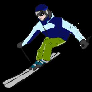 Ski Fahrer