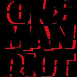 Ein Mann Aufruhr
