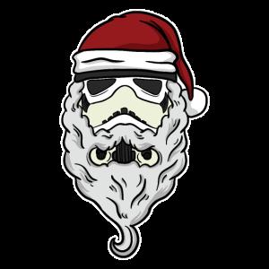 Stormtrooper Nikolaus Weihnachtsmann Weihnachten