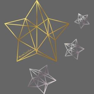 mamiseelen Sterne gold-silber