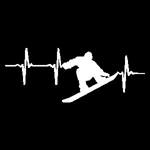 Snowboard Liebhaber für Snowboarder Geschenk