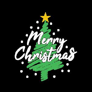 Frohe Weihnachten Tannenbaum Weihnachtsbaum Logo
