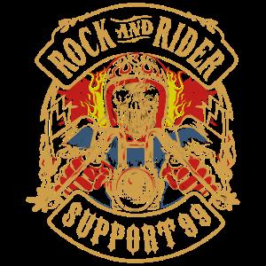 ROCK- UND RIDER-UNTERSTÜTZUNG 99