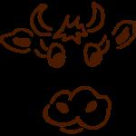 Kuhkopf, Allgäu, Tracht, süß, Tier, Geschenk