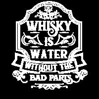 Whisky Alkohol lustiger Spruch Geschenk Whiskey