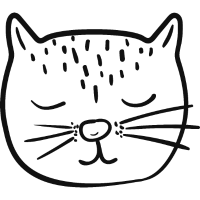 Katze Abstrakt