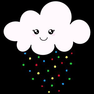 Lass es Konfetti regnen