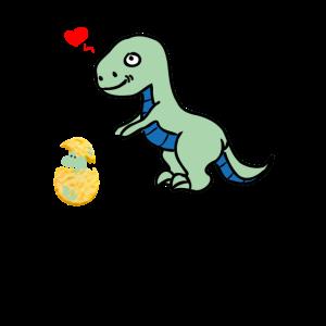 Mummy Saurus Dino Dinosaurier