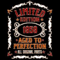1959 Geboren - Geschenk T-Shirt für 60. Geburtstag