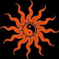 Golden Sun Yin Yang - Sonne