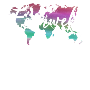 Fernweh Weltkarte Reisefieber Geschenk Backpacker
