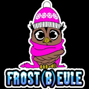 Frost(b)eule - Frierende Eule