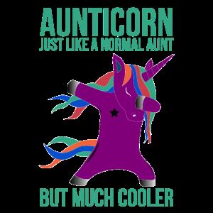 Einhorn Tante Aunticon wie normale Tante nur cool