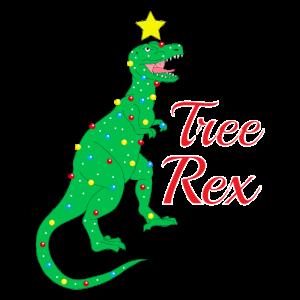 Weihanchten Trex Tree Rex
