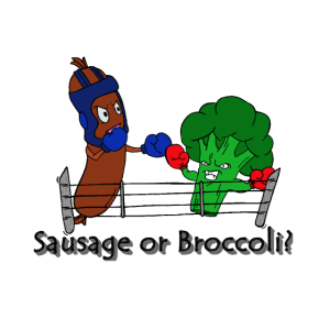 Sausage or Broccoli?