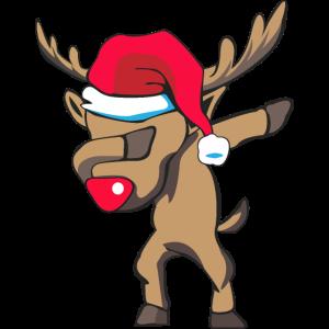 dabbing Rudolph zu Weihnachten als Geschenk