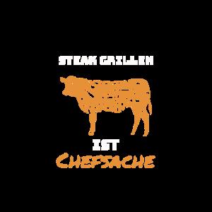 Steak Grillen ist Chefsache