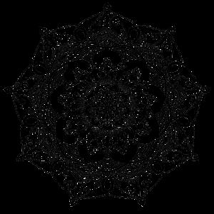 mandala blumenmuster handgezeichnet