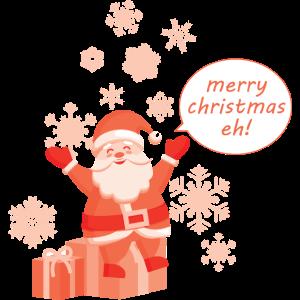 Santa Shirt · Weihnachtlich · Festlich Geschenk