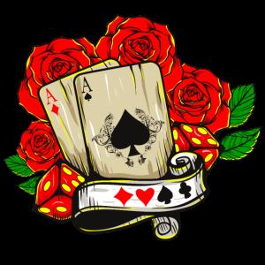 Poker Rosen Ass Glücksspiel Poker Spieler