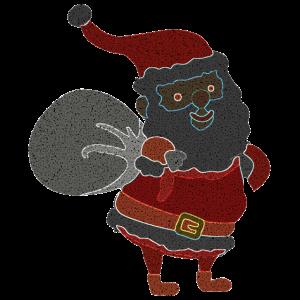 Zweiter Weihnachtsmann im Leucht Design