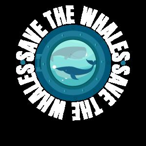 Speichern Sie den Wal-Protest-Märzentwurf