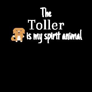 The Toller Is My Spirit Animal