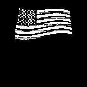 Ascii Code Art - USA Flagge /United States Flag