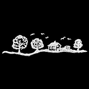 Landschaft weiß