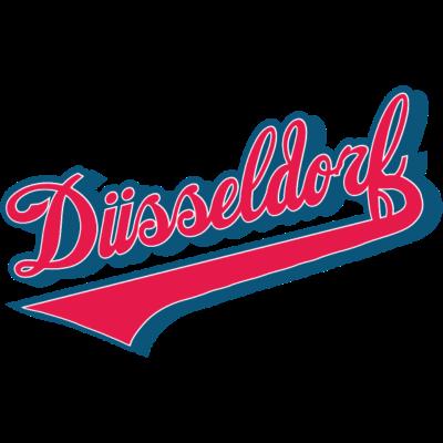 duesseldorf redblue -  - Rhein,Düsseldorf,1895
