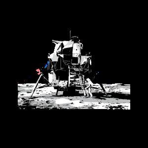 Mondlandung Der Apollo 11 | Astronaut Weltall Ufo