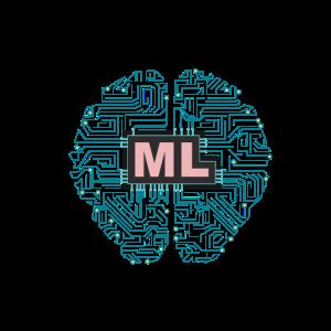 Maschinelles Lernen ML Liebe AI digitales Geschenk - T-Shirt
