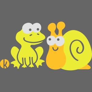 Frosch und Schnecke (c2) Freundschaft