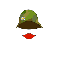 Miss Army - Flower Badge