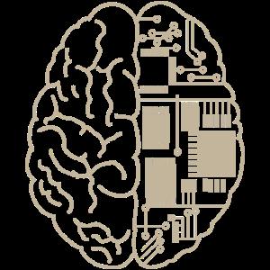 Gehirn Cyborg Künstliche Intelligenz Zukunft