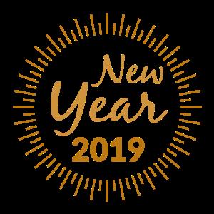 Neues Jahr 2019 Geschenk