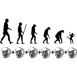 Evolution drinking