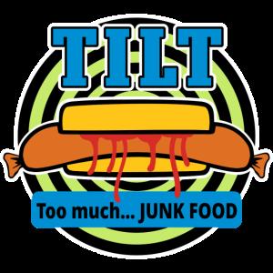 Tilt! Too much Junk Food!