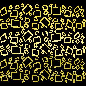 Würfel aus Gold