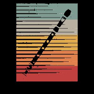 Flöte Musiker Querflöte Geschenk Geschenkidee
