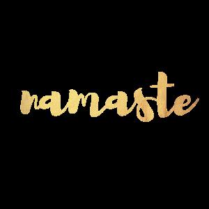 Namaste Yoga Gold Meditation Shirt