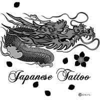 Japanese Tattoo Dragon
