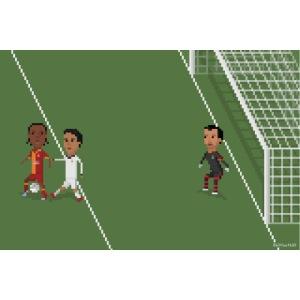 Backheel goal BG