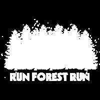 Run Forest Run Wald Förster Lustiges Geschenk