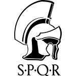 SPQR Römischer Helm