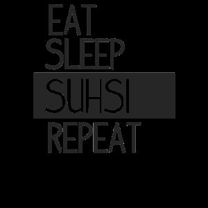 Sushi Maki Avocado Reis Geschenk