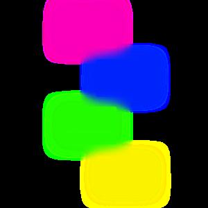 kasetten neon techno 80th pop-art