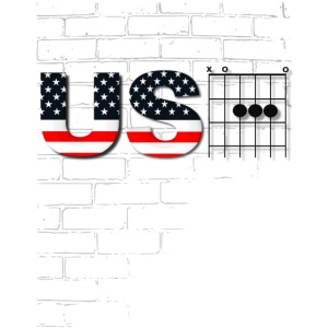 USA American Flag in Chords